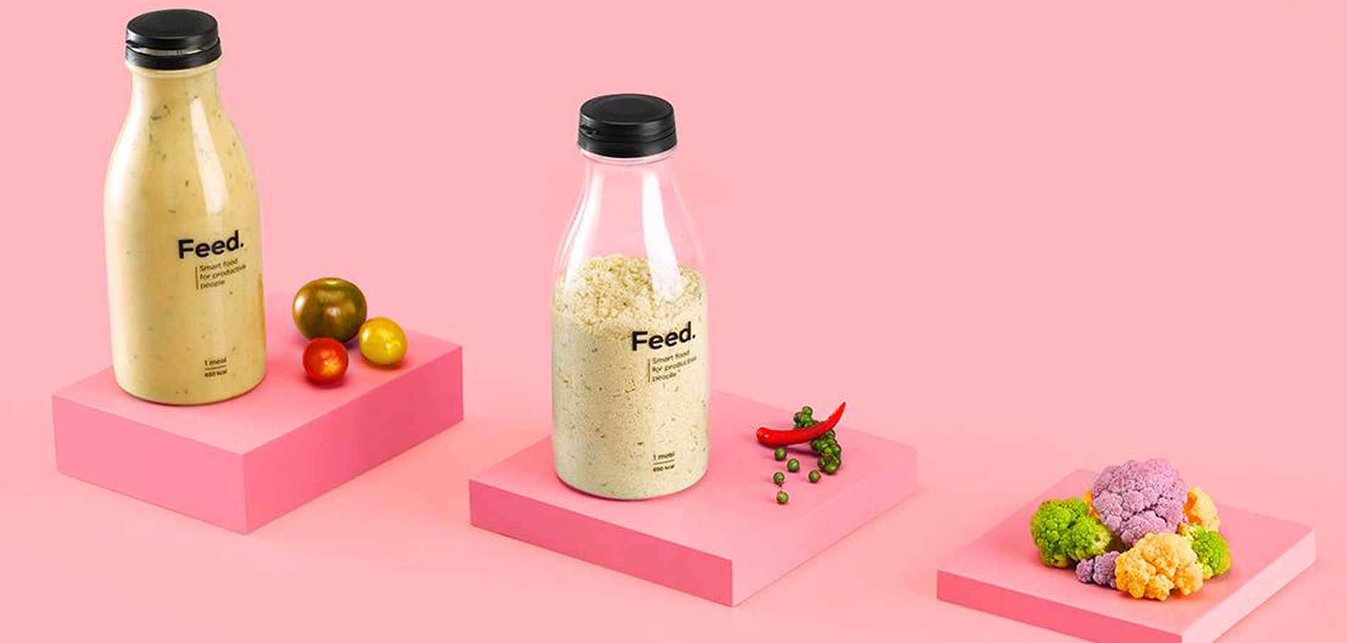 Feed : le nouveau repas qui tient en une bouteille ! 💥